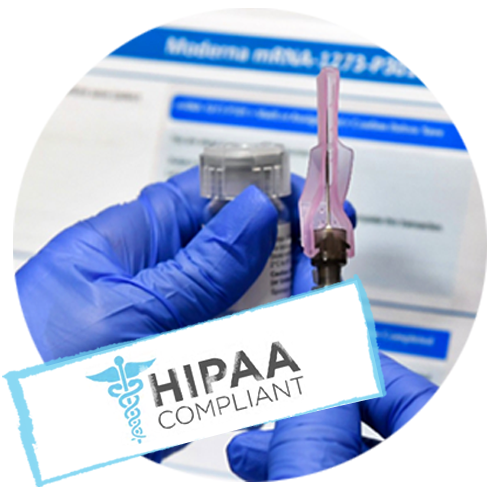 hipaa compliant vaccination management solution